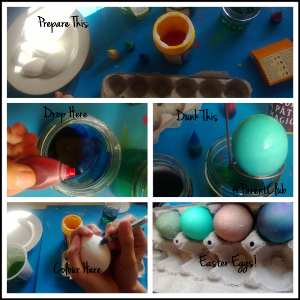Easter Eggs How To
