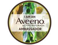 Aveeno Ambassador badge