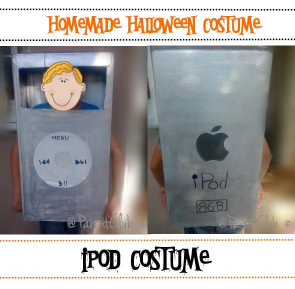 How To: Homemade iPod Costume