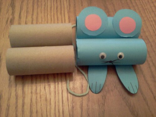 Toilet Paper Mouse Craft Parent Club