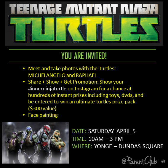 TEENAGE MUTANT NINJA TURTLES EVENT