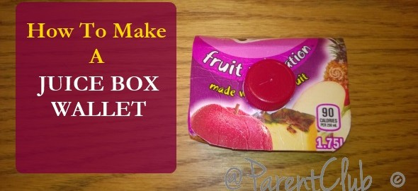 how to make a juice box wallet