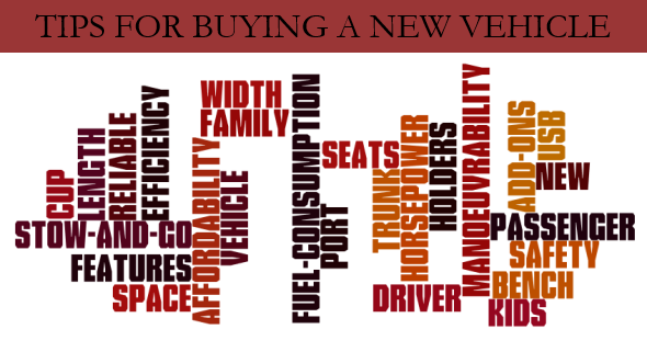 Tips for Buying a New Vehicle
