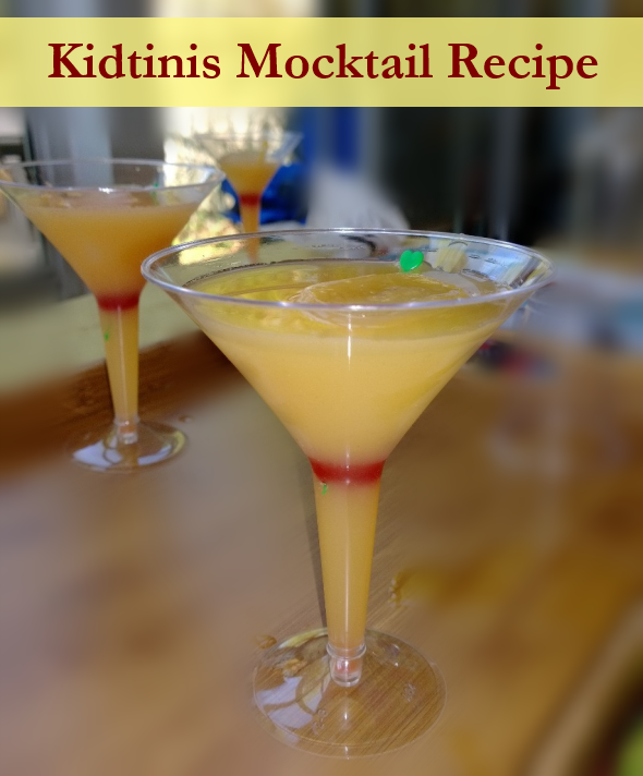 Kid's Mock Cocktail Recipe