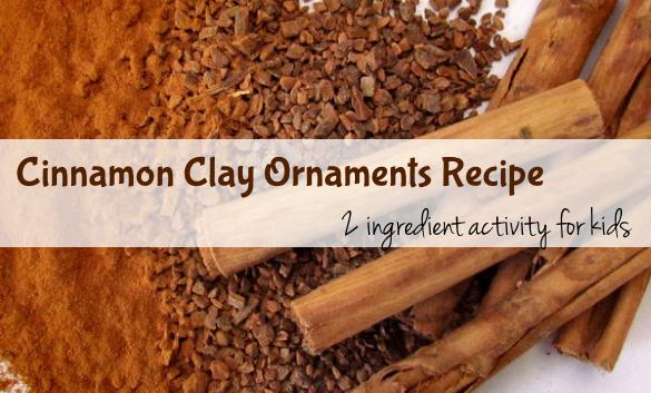 Cinnamon Clay Ornament Recipe